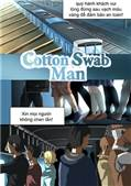 Cotton swab man